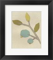Simple Stems II Framed Print