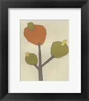 Simple Stems III Framed Print