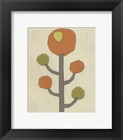 Simple Stems IX Framed Print
