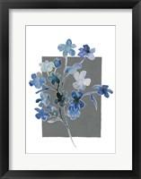 Blue Bouquet I Framed Print