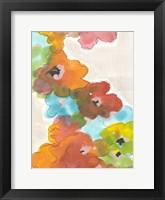 Framed Floral Cascade II