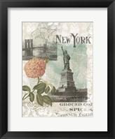 Framed Visiting New York