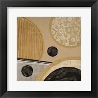 Framed Calm Circles II