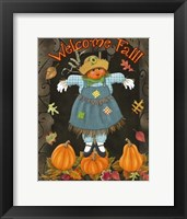 Framed Fall Scarecrow II