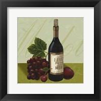Framed Wine Country II