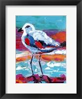 Seaside Birds I Framed Print