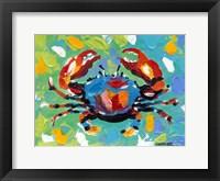 Seaside Crab I Framed Print