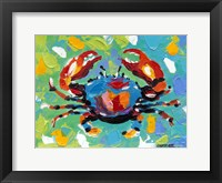 Seaside Crab I Framed Print