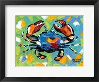 Framed Seaside Crab II