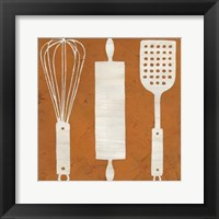 Kitchen Kitsch II Framed Print