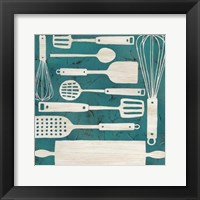Kitchen Kitsch IV Framed Print