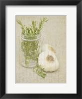 Herb Still Life II Framed Print
