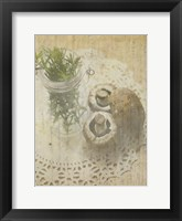 Framed Herb Still Life IV