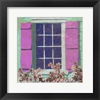 Framed Window Floral II