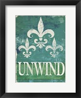 Framed Renew - Unwind II