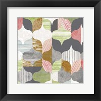 Arabesque Shapes II Framed Print