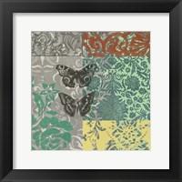 World Bazaar Butterflies II Framed Print