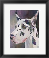 Framed Mary Kay Great Dane