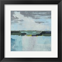 A Day at the Sea II Framed Print