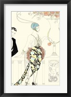 Framed Arte Deco Fashion II