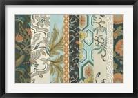Framed Textile Strata II