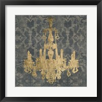 Framed Gilt Chandelier II