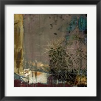 Framed Cactus Abstract