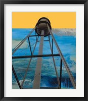 Framed Water Tower Abstract
