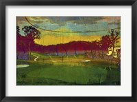 Framed Golf Abstract I