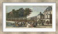 Framed View of Fontainebleau II