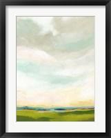 Bright Vista I Framed Print
