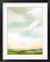 Bright Vista II Framed Print