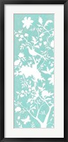 Graphic Chinoiserie I Framed Print