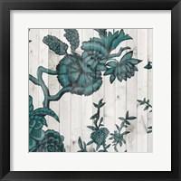 Terra Verde Chinoiserie IV Framed Print