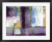 Vibrant Rhythm II Framed Print
