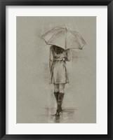 Framed Rainy Day Rendezvous I