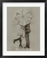 Framed Rainy Day Rendezvous III