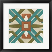 Global Motif I Framed Print