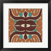 Global Motif II Framed Print