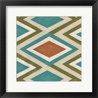 Global Motif V Framed Print