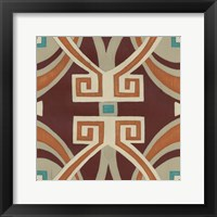 Global Motif VI Framed Print