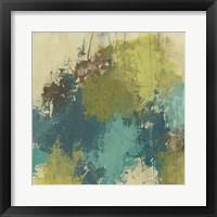 Blue Monday II Framed Print