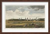 Framed South Prospect of Oxford