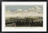 Framed East Prospect of Oxford
