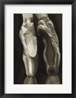 Framed Ballet Shoes I