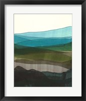 Blue Hills I Framed Print