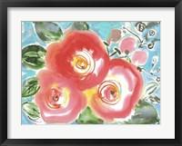 Framed Bed of Roses II