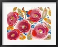 Framed Bed of Roses III