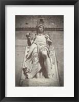 Framed Statue Castel Sant Angelo