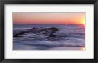 Framed Sun Up Ocean Grove